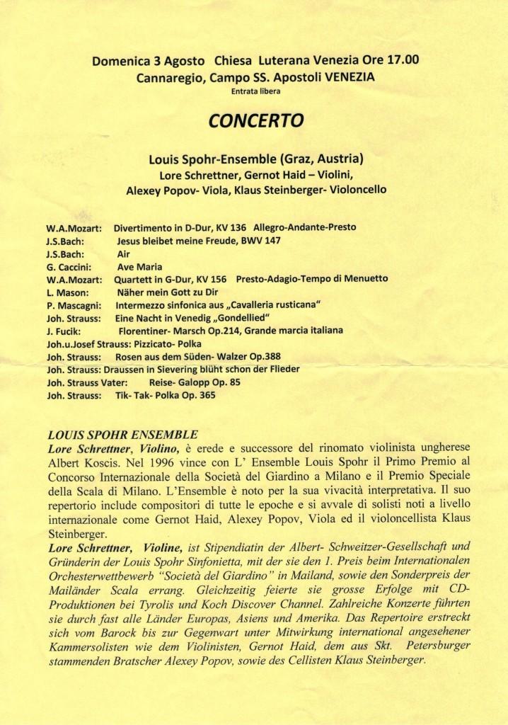 Concerto Venezia