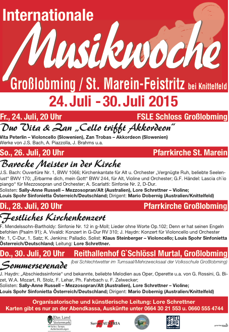 Internationale Musikwoche 2015